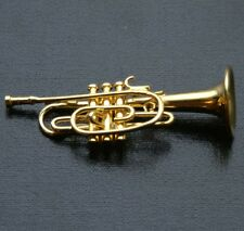 Cornet With Hardcase, Doll House , 1.12th Scale, Musical Instrument