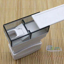 Pill Cutter Splitter Divider Medication Dispenser w/ Container Storage Box Case