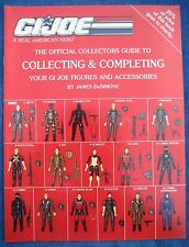 "Collectors Guide Book for 3 3/4"" GI JOE Figures & Accessories -by James DeSimone"
