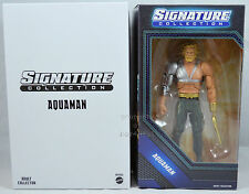 "DC SIGNATURE COLLECTION AQUAMAN WITH HOOK NEW 6"" ACTION FIGURE 2014"