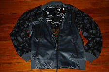 "NEW Men's Nike Air Jordan Flight Member ""Career High"" Black Camo Jacket (Medium)"