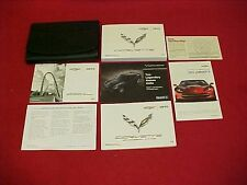 2015 ORIGINAL CORVETTE STINGRAY NEW OWNERS MANUAL SERVICE 15 + CASE NAVIGATION