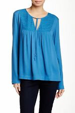 Ella Moss Women's STELLA LONG SLEEVE TOP marine Size XS $158 n9/10
