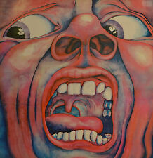 """IN THE COURT OF THE CRIMSON KING - KING CRIMSON  LP 12"""" (S369)"""