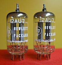 1959 NOS NEC/Mullard 12AU7 PLATINUM PLUS GRADE D Getter Tubes Matched Pair ECC82
