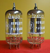 1959 NOS NEC/Mullard 12AU7 PLATINUM PLUS D Getter GRADE Tubes Matched Pair ECC82