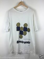 Electronic New Order the smiths factory vintage t-shirt sz. XL