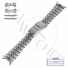 Genuine SEIKO 44G1JZ 22mm SS Jubilee Band + Pins | SKX007 SKX009 Watch Strap