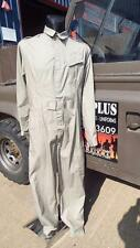 """NEW RAF ARMY STONE COVERALL OVERALLS flight suit FR FLAME RETART 40-42"""" GOODWOOD"""