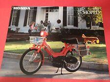 1982 Honda PA50 II Moped Sales Brochure