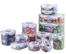 Lock & Lock 28-Piece BPA Free Container Set with 4-Sided Locking Lids - Microwav