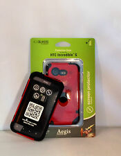 TRIDENT AEGIS PROTECTIVE CASE FOR HTC INCREDIBLE 2 /S RED (BRAND NEW)