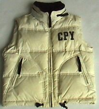 Cream Black C.P. Company Body Warmer Junior Gilet Hood Piuma D'oca 8 years CP