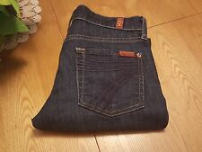 "Womens Seven 7 For All Mankind Crop Dojo Jeans 26"" Waist  NWOT Very Nice!"