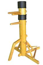 Brand New Traditional Wing Chun Wooden Dummy with Tripod Stand