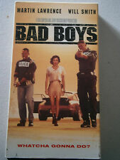 Collectible VHS Movie Tape - BAD BOYS - Martin Lawrence / Will Smith / Tea Leoni