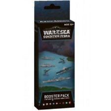 AXIS & ALLIES WAR AT SEA CONDITION ZEBRA BOOSTER PACK MINIATURES GAME