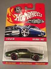 Hot Wheels Modern Classics - Spectraflame Olive '68 Olds 442 #13