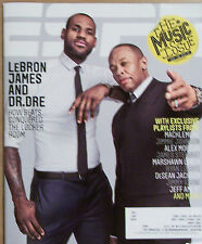 2013 ESPN MAGAZINE LEBRON JAMES & DR DRE THE MUSIC ISSUE