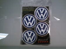 Adesivi copricerchi cerchioni coprimozzo ruota Volkswagen VW logo stemma
