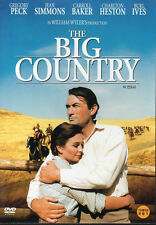 The Big Country - Gregory Peck Jean Simmons Charlton Heston (NEW) Classic DVD