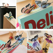 Puppy Butterfly Bookmarks Cartoon Book Marks Paper Clip Office School Gift SJ6