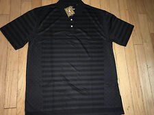 SKINS GAME Men's Bamboo Black Polo Size  2XL