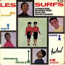 EP les SURFS su forma de besar (shoop shoop song) FRENCH SUNG SPAIN 1964