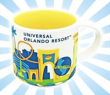 Starbucks Universal Studios Orlando You Are Here Ceramic Coffee Mug Cup 2016 NEW