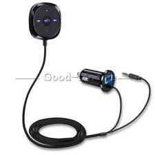 Wireless Bluetooth 4.0 Audio Music Receiver 3.5mm A2DP Car AUX Speaker Adapter G