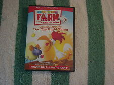 On the Farm with Farmer Bob - Cocka Doodle Doo The Right Thing  (DVD, 2004)