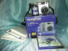 Olympus Camedia C-4000 Zoom 4.0 MP with 16 MB SmartMedia card Original box