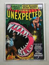 Tales of the Unexpected #100 (1967, DC) 100TH ISSUE Judy Blonde FLYING SAUCERS