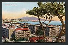 C1910 View of the Bay at Naples, Italy.