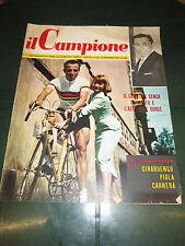 RIVISTA SPORTIVA IL CAMPIONE DICEMBRE 56 ANNO II° N°15 COPPI GIRARDENGO PIOLA
