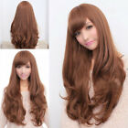 Fashion Women Ladies' Long Wavy Curly Hair Cosplay Costume Party Full Wig/Wigs