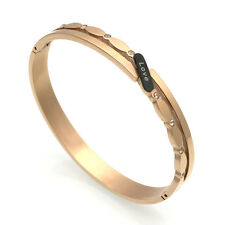 Rose Gold Love Cuff Bracelet Bangle