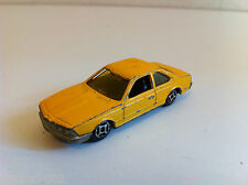 Norev Mini Jet - BMW 633 CSi jaune (1/64)