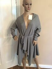 MAX MARA Grey Knitted Cardigan New BNWTS Rrp £305 Size L Large