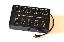 8 Band Sound Equalizer Echo Compressor to YAESU Radio RJ-45 mic transceiver FT-
