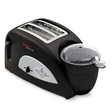 TEFAL 1200W TOAST N' EGG ELECTRIC WIDE SLOTTED 2 SLICE TOASTER WITH EGG POACHER