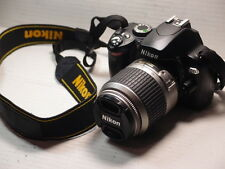 Nikon D D60 10.2MP Digital SLR-Negra (Kit con lente de 18-55mm)