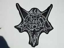 ANTAEUS BLACK METAL EMBROIDERED BACK PATCH