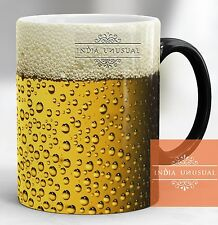 Beer design Magic color changing Coffee Mug Tea Cup Best gift for Christmas