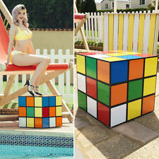 Giant rubiks cube/storage box display prop. Wedding event decor
