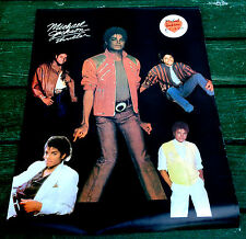 "1982 original MICHAEL JACKSON thriller POSTER old store stock 18"" x 24"" mj NICE"