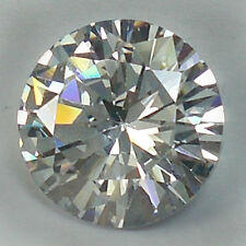6.50 CT.10x6 mm. AWESOME WHITE BRILLIANT ROUND DIAMOND (Lab-Created).