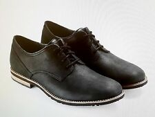 NEW 8.5(W) RockPort V81312 Ledge Hill Too Plain Toe Bluchers - BLACK -341