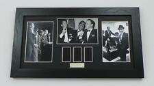 THE RAT PACK Film Cell Framed DEAN MARTIN FRANK SINATRA MOVIE MEMORABILIA GIFTS