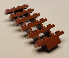 x1 NEW Lego Brown Stair CASTLE CITY TOWN Minifig Parts REDDISH BROWN
